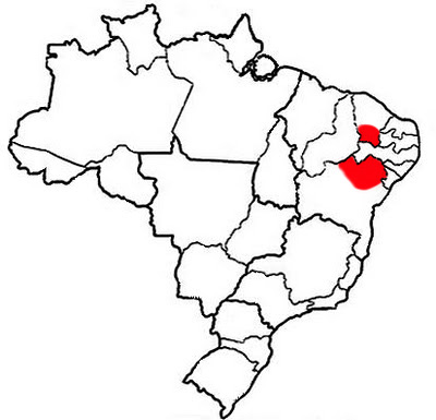 Southern Ceará State & Northern Bahia State